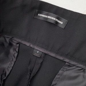 Express Pants - Express High Waist Belted Wide Leg Dress Pants 4